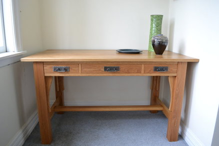 Craftsman Library Table Plans Woodworktips